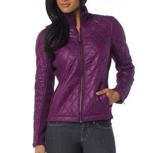 Prana Diva Womens Jacket  Size Medium Purple